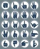手标志 库存图片