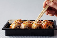 手棍子日本卷 图库摄影