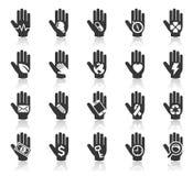 手概念象。例证。 图库摄影