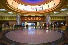手段世界的圣淘沙赌博娱乐场 库存照片