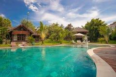 手段在巴厘岛 免版税库存照片