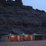 手段在Ubari沙漠 免版税库存图片