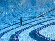 手段游泳池 库存图片