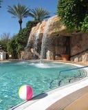 手段游泳池 库存照片