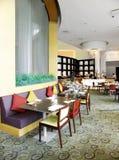 手段的内部,高级餐馆 图库摄影