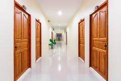 手段的走廊 免版税库存照片