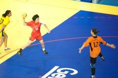 手球体育。 免版税库存图片