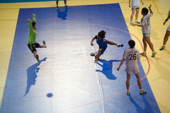 手球体育。 库存图片