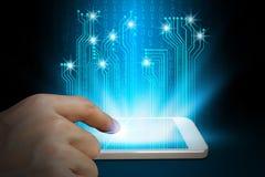 手用途智能手机 免版税库存图片