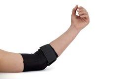 手肘技术支持。 库存照片