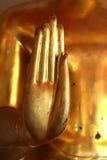 手菩萨雕象在Wat Pho 免版税库存图片