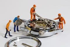 手表修理 图库摄影