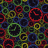 手表拨号盘颜色样式eps10 图库摄影