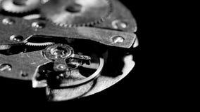 手表机制宏指令圈 老葡萄酒时钟机制工作 影视素材