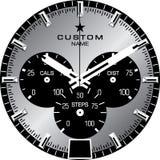 手表模板B 免版税库存照片