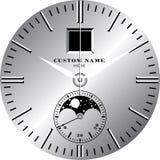 手表模板E 库存图片