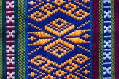 手被编织的传统兰纳 免版税图库摄影