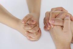 手,身体局部 库存照片
