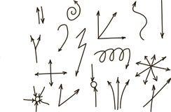 手:正确,左, Y轴,线,曲线,扭转了,分歧,黑,单图 免版税库存图片