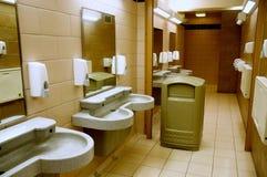 洗手间在休息区 库存图片