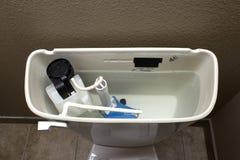 洗手间坦克机械工 图库摄影