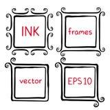 手画墨水框架 向量例证