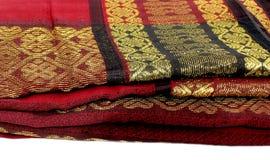 手织机布料 图库摄影