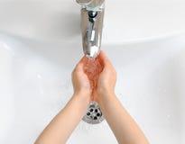 手洗涤 库存图片