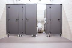 从洗手间的门 免版税库存照片