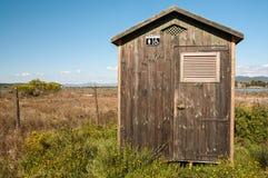洗手间箱子 免版税库存图片