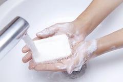 手洗 库存图片