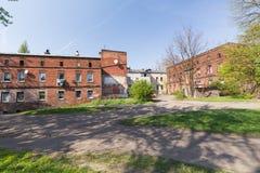 扎布热/传统历史的老建筑学在城市 免版税库存图片