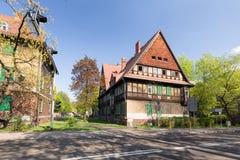 扎布热/传统历史的老建筑学在城市 免版税库存照片