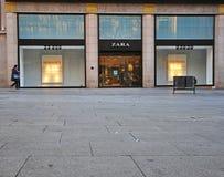 扎拉商店,巴塞罗那 库存照片