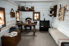 扎波罗热哥萨克人的博物馆 免版税库存照片