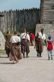 扎波罗热哥萨克人的博物馆 免版税图库摄影