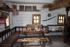 扎波罗热哥萨克人的博物馆 库存照片