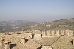 扎瓦塔雷洛帕尔瓦意大利全景 免版税图库摄影