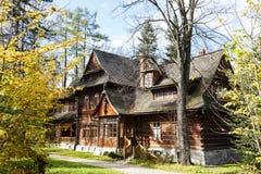扎科帕内位于别墅的样式博物馆Koliba 免版税库存图片