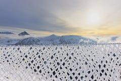 扎科帕内Kasprowy Wierch上面Tatra山的在冬天 免版税库存照片