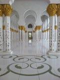 扎耶德扎耶德清真寺阿布扎比 库存图片