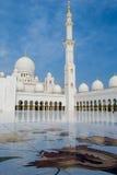 扎耶德Mosque回教族长 库存照片