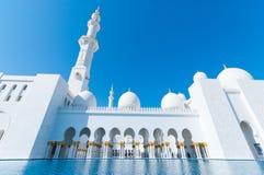 扎耶德Mosque回教族长 图库摄影