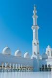 扎耶德Mosque回教族长 免版税图库摄影