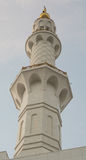 扎耶德Mosque,阿拉伯联合酋长国回教族长 免版税库存图片