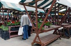扎达尔市场 图库摄影