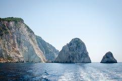 扎金索斯州暑假在海岛上的一个假日生动描述启发 图库摄影