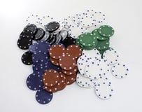 扑克牌游戏 图库摄影