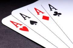 扑克牌游戏 库存照片
