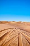 打击沙丘 库存图片